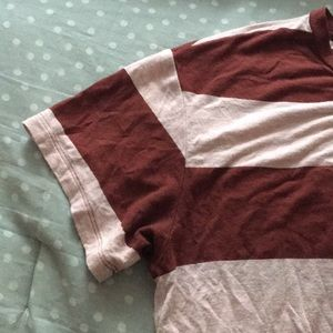 American Eagle Outfitters Tops - American eagle outfitters red and white stripped